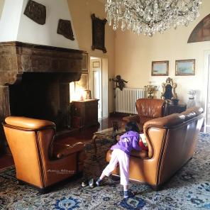 Berlagak bangsawan di sebuah kastil tua ;)